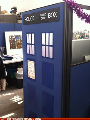 TARDIS Cubicle
