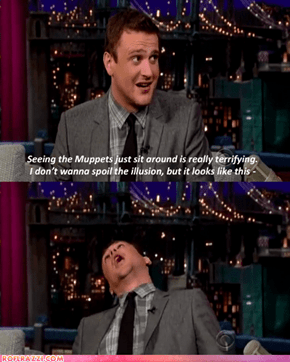 Jason Segel Spoils the Illusion