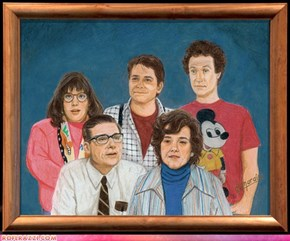 Fictitious Hollywood Family Portraits