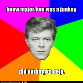 why major tom died.