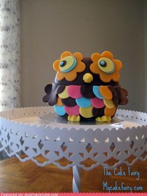 Epicute: Owl Cake Topper