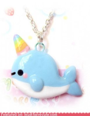 rainbow horned narwhal