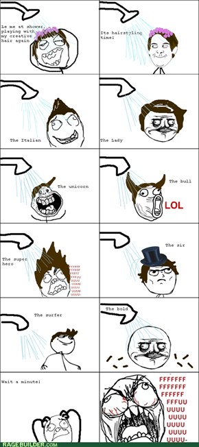 Rage Comics: To Baldly Go