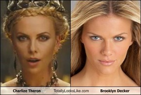 Charlize Theron Totally Looks Like Brooklyn Decker