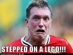STEPPED ON A LEGO!!!
