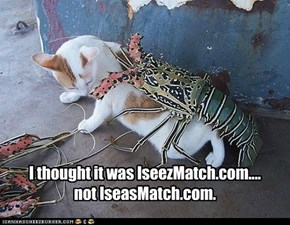 I thought it was IseezMatch.com....not IseasMatch.com.
