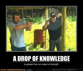 A DROP OF KNOWLEDGE
