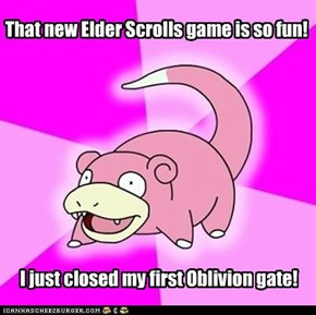 That new Elder Scrolls game is so fun!