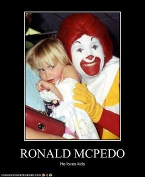 RONALD MCPEDO