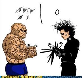 Rock Beats Scissors