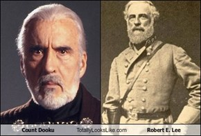 Count Dooku Totally Looks Like Robert E. Lee