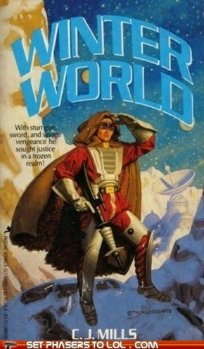 WTF Sci-Fi Book Covers: Winter World