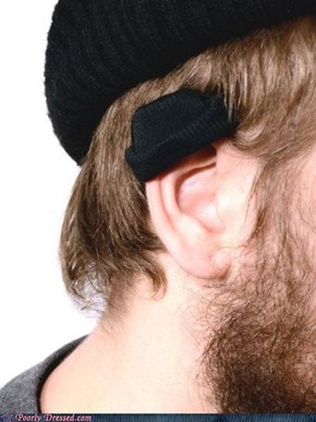 Ear Beanies: Coming to a Hipster Near You
