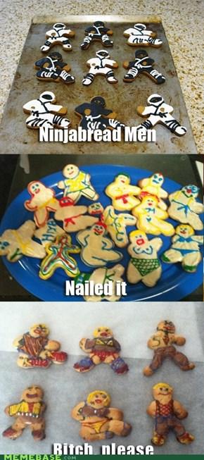 """The """"ninja"""" cookies strike again..."""