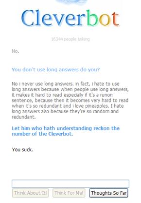Redundant long answers are redundant and long.