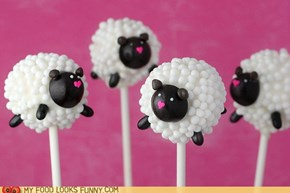 These lollipops are making me feel sheepish