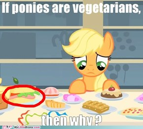 Meat in equestria ?!