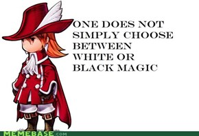 Red Mage, Like a Boss!