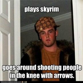 scumbag archer.