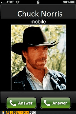 Chuck Norris Won't Be Denied