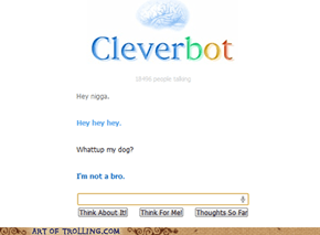 Cleverbot : not a bro