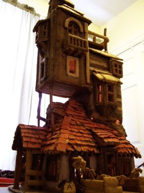 Harry Potter Gingerbread House of the Day