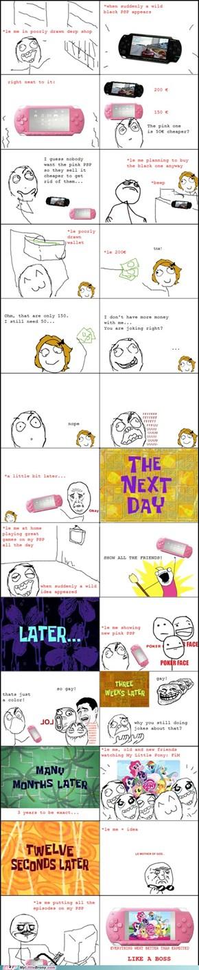 Pink PSP Rage