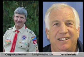 Creepy Scoutmaster Totally Looks Like Jerry Sandusky