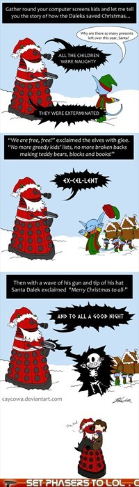 How the Daleks Saved Christmas