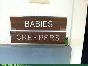 Babies creepers