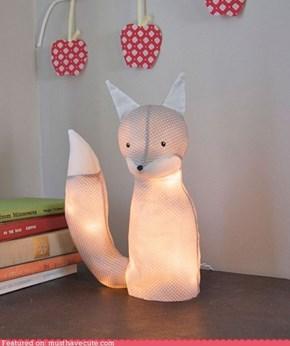 DIY Foxy Lamp