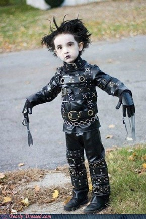 Dressed to Win: Edward-Scissorhands, the Early Years