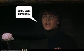 Don't.. stop.. Hermione...
