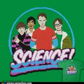 Big Bang T-Shirt! 80s Style!