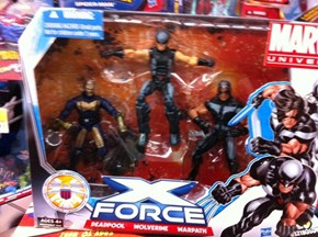 Night Crawler.....the new....X-Men?  ONLY AT WAL-MART!