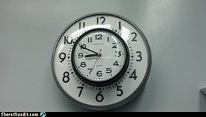 There I Fixed It: Probably About Time to fix The Clock