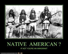 NATIVE  AMERICAN ?