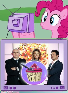 Pinkie Pie Reaction to Cupcake wars