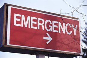 This is a dumb emergency sign