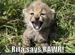 Rita says RAWR!