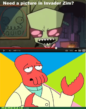 Invader Zim Was a PREQUEL to Futurama!