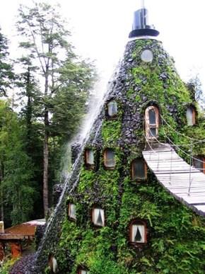 Hotel La Montaña Mágica in Huilo-Huilo, Chile