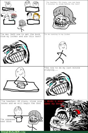 Rage Comic: So Close