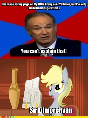 MODS, Y U NO FEATURE OTHER BRONIES? (from mods)