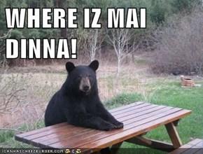 WHERE IZ MAI DINNA!