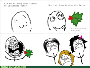 You Can't Say No to Mistletoe!