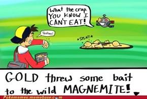 Magnemite Used Eat!