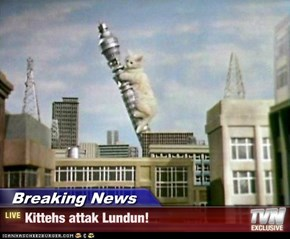 Breaking News - Kittehs attak Lundun!