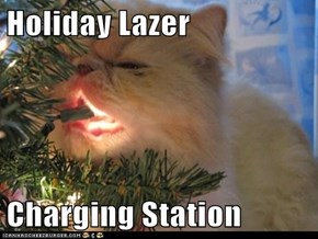 Holiday Lazer  Charging Station