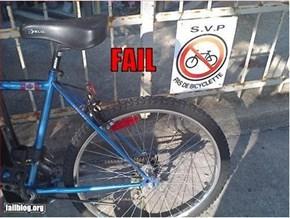 No Bikes Fail